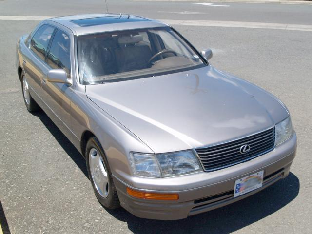 autoland 1995 lexus ls400 vip tanabe springs leather a c. Black Bedroom Furniture Sets. Home Design Ideas